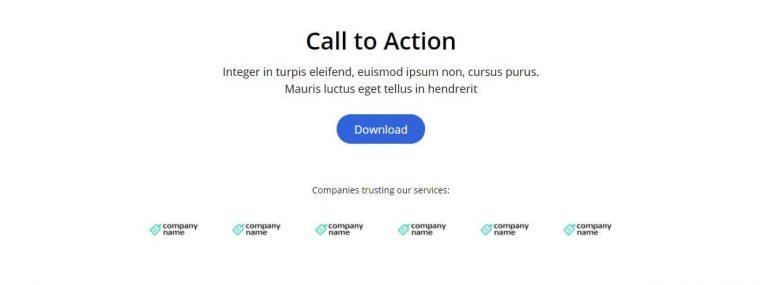 elementor CTA call to action template 4