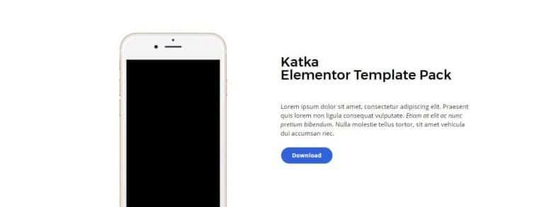 elementor content template 15