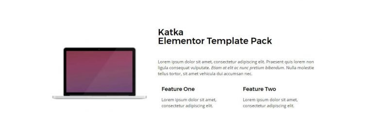 elementor content template 17