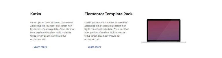 elementor content template 22