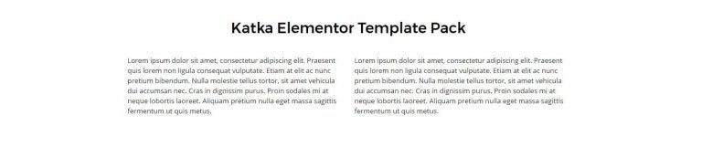 elementor content template 7