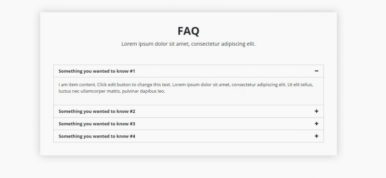 elementor faq template 3