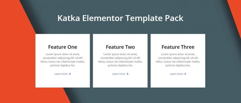 elementor features section template 4