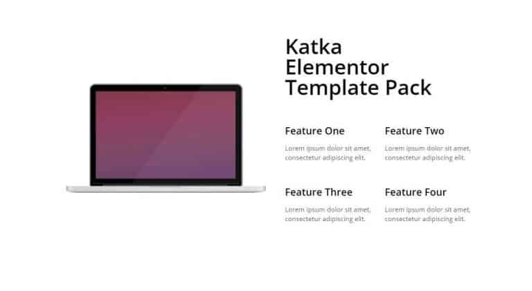 elementor features section template 6
