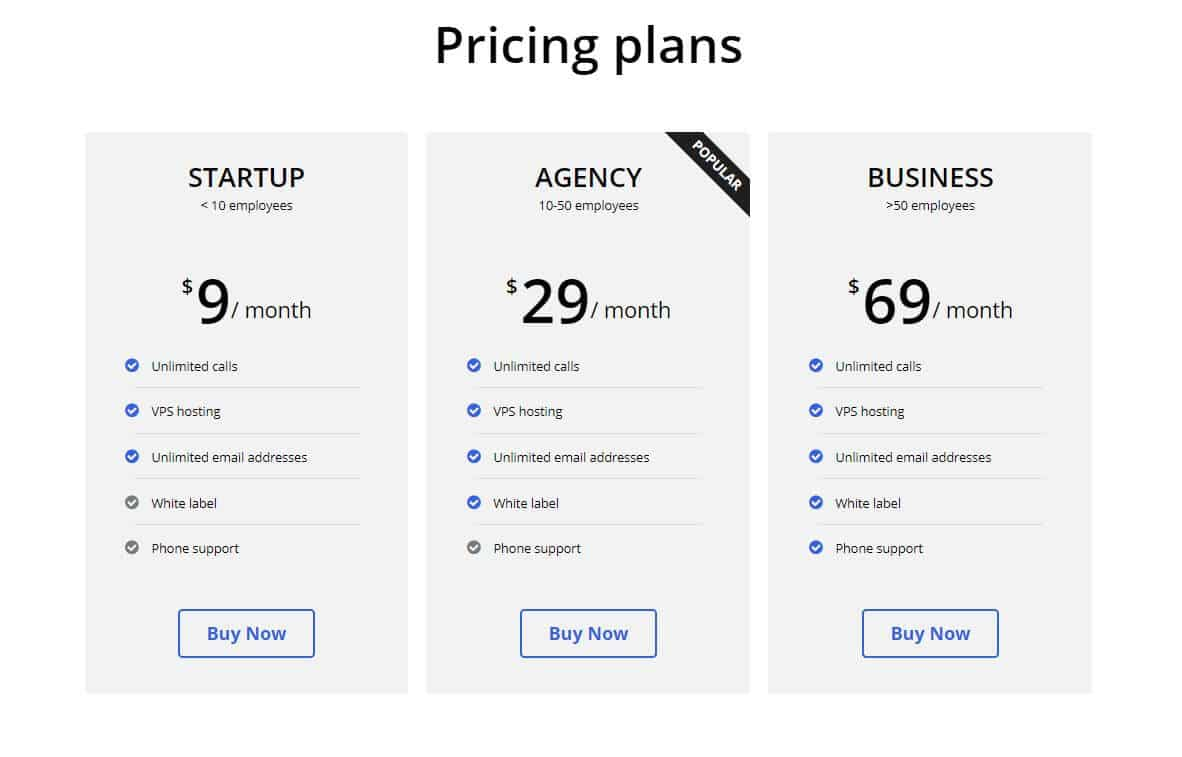 elementor pricing table template 2