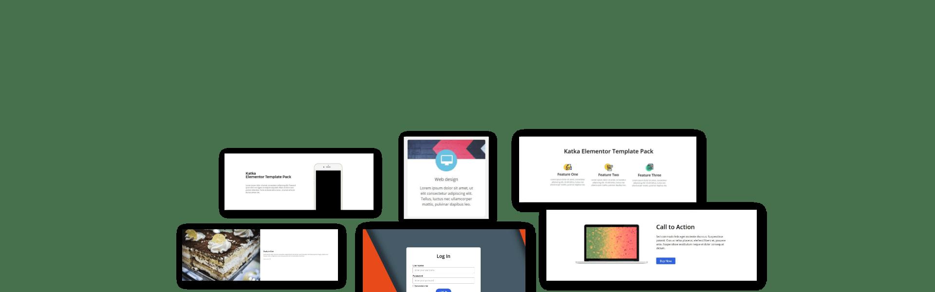 elementor section block templates