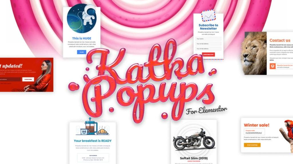 Katka Popups for Elementor