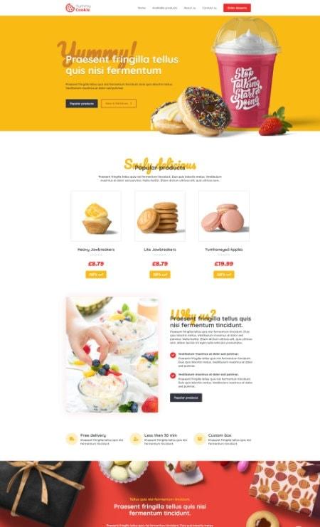 Katka Cookie shop - home