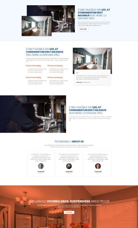 Katka-Pro-Plumber-Elementor page-template - About Us
