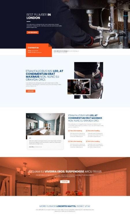 Katka-Pro-Plumber-Elementor Landing-page-template