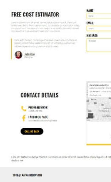 Katka-Pro-Renovator-Elementor Landing-page - Contact us