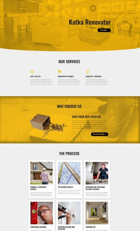 Katka-Pro-Renovator-Elementor Landing-page