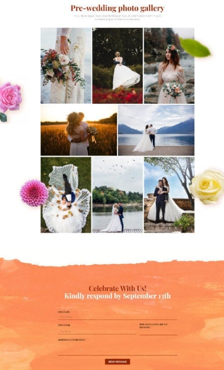 Katka-Pro-Wedding-Gallery-Elementor page template