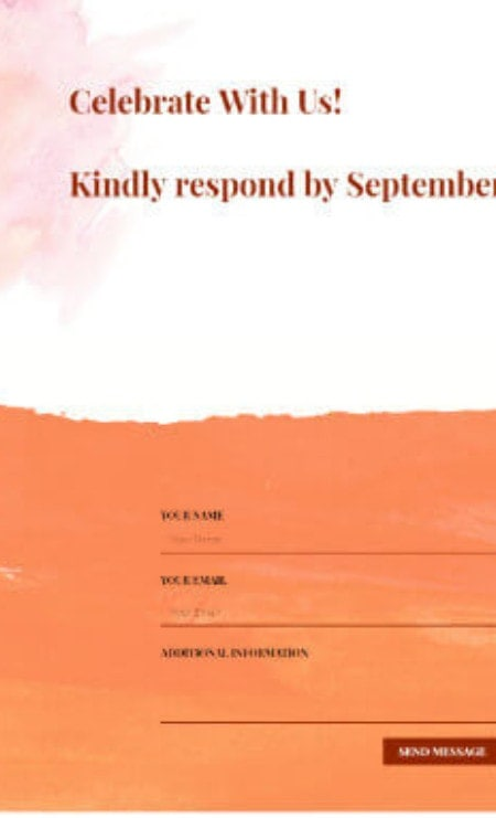 Katka-Pro-Wedding-RSVP-Elementor page-template