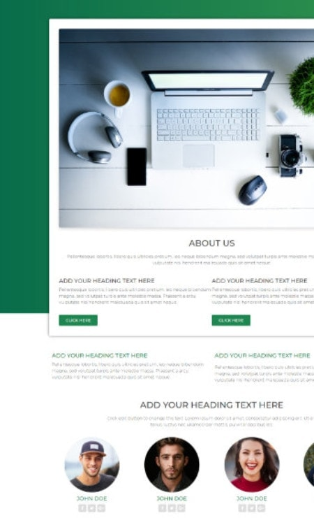 Katka Pro WooCommerce Electronics shop - Elementor About page page template