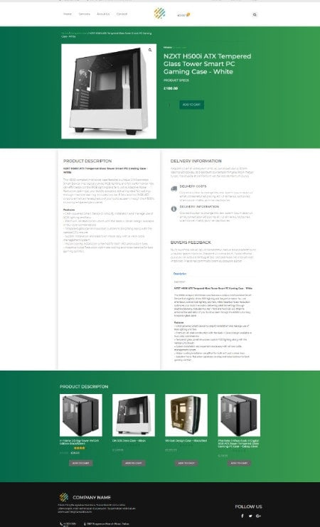Katka Pro WooCommerce Electronics shop - Elementor Single product page template