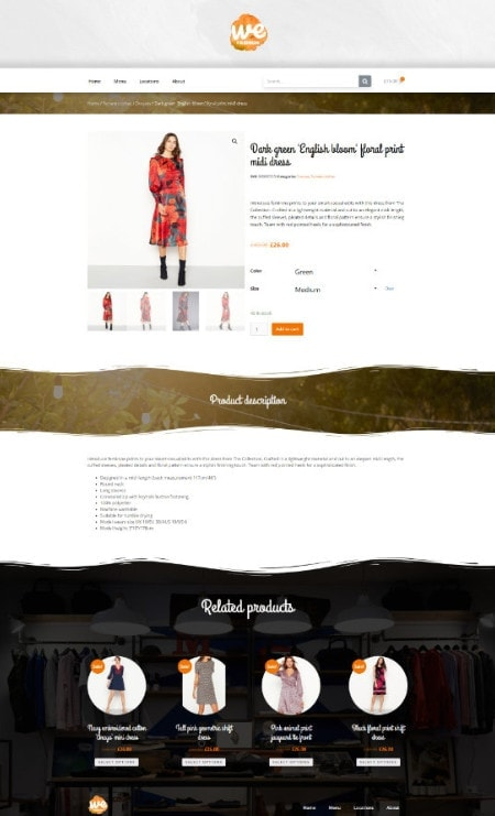 Katka Pro WooCommerce Fashion Summer Edition - Elementor Single product template
