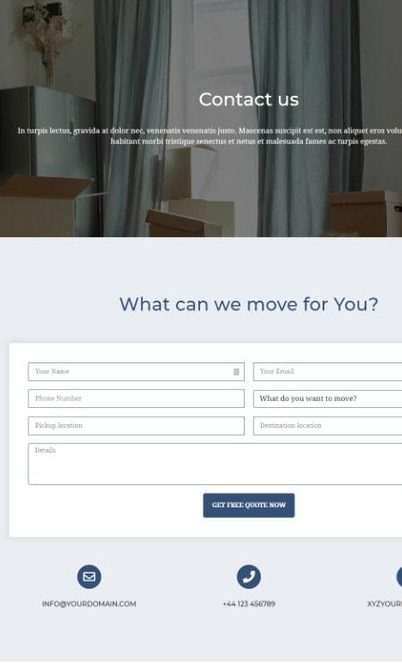Katka Moving - Contact us