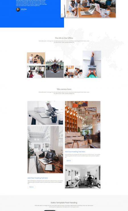 Katka App Landing Page Template - About us