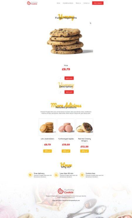 Katka Cookie shop - Single product