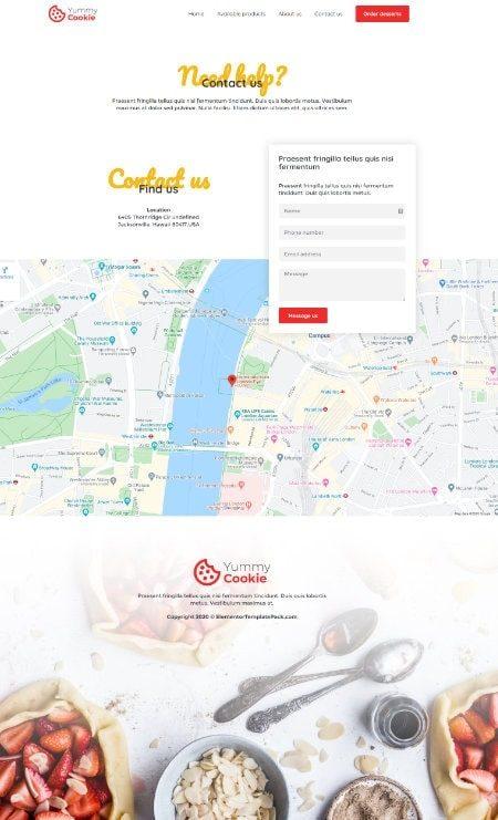 Katka Cookie shop - contact us