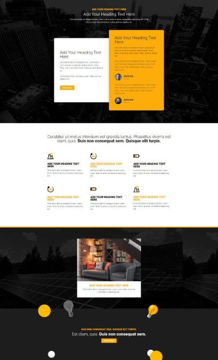 Katka Pro Electrician About Us Elementor page template