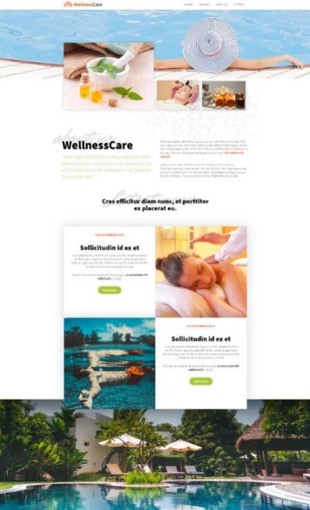 Katka Pro Wellness - About Elementor page template
