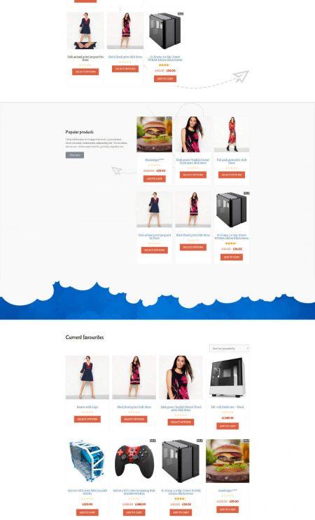 Katka WooCommerce Kids shop - Shop page